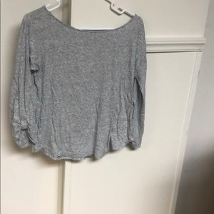 Beautiful grey 3/4 sleeve tee